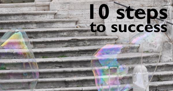 Tip #6: 10 Steps to Website Success