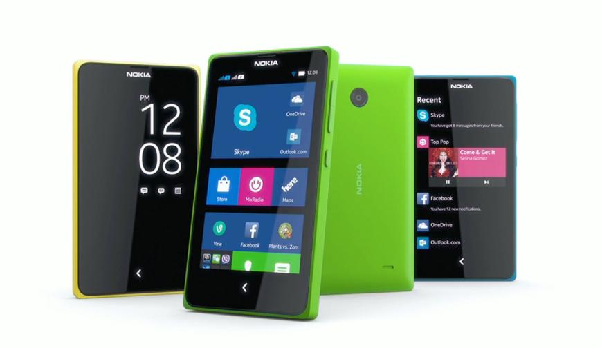 Nokia x range announced at mobile world congress 2014
