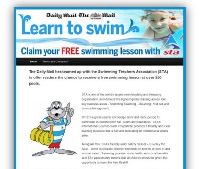 Daily Mail Swimming Campaign