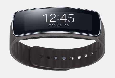 Samsung Gear Fit wristband