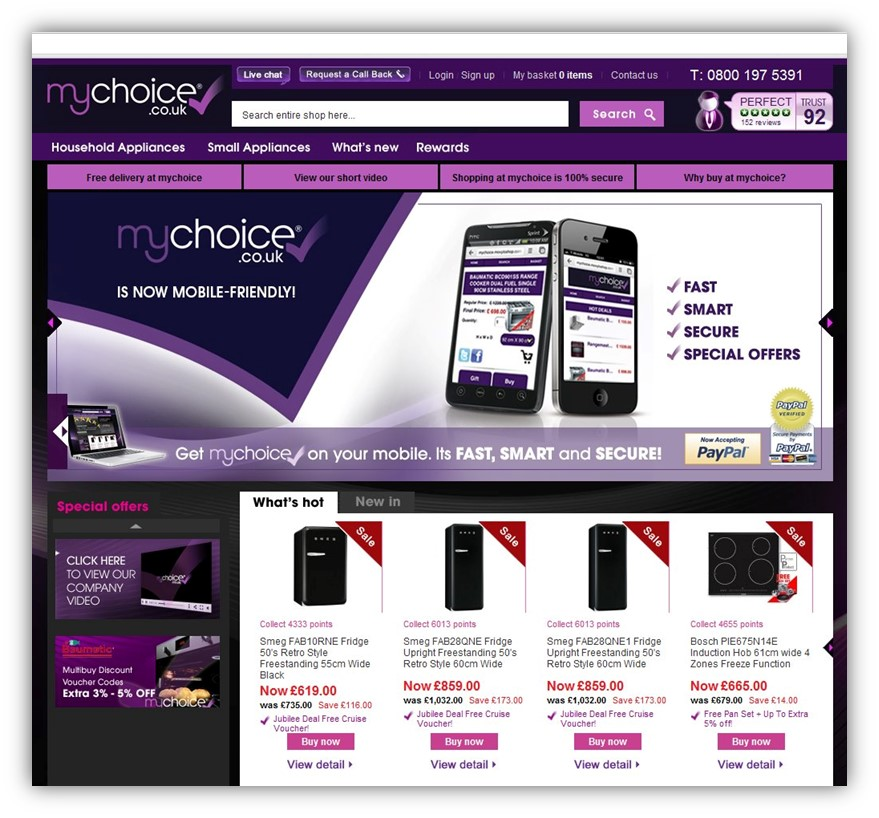 MyChoice Electrical Retailer