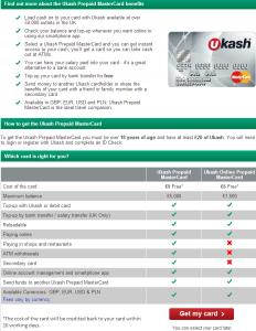 Ukash Mastercard
